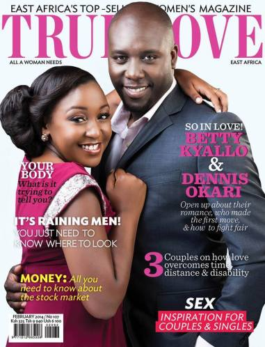 DENNIS OKARI's message to all the haters who are still LUSTING for his FIANCEE BETTY KYALO